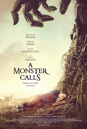 A Monster Calls kapak