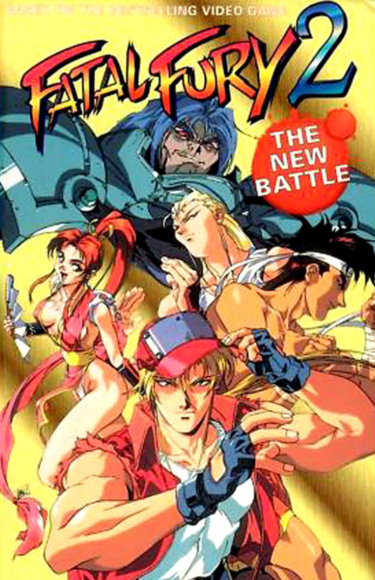Fatal Fury 2: The New Battle kapak
