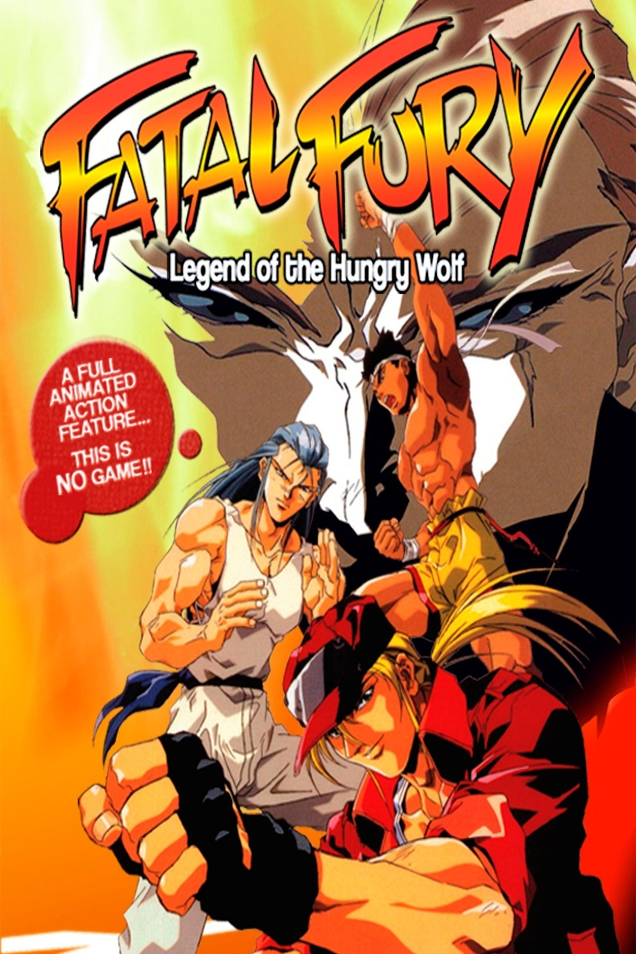 Fatal Fury: Legend of the Hungry Wolf kapak