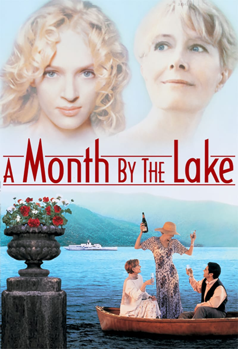 A Month by the Lake kapak