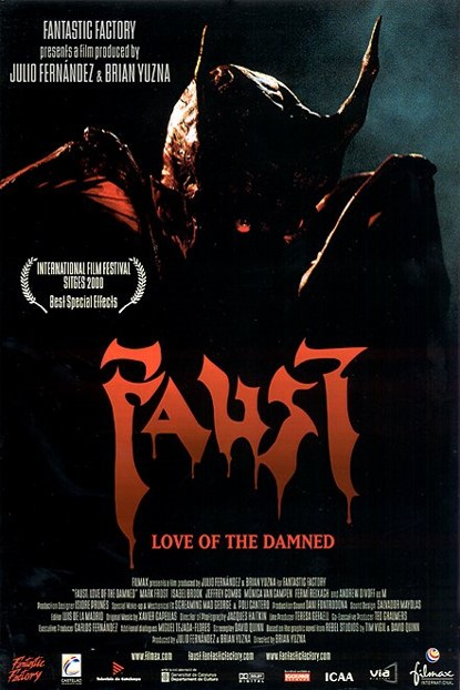 Faust: Love of the Damned kapak