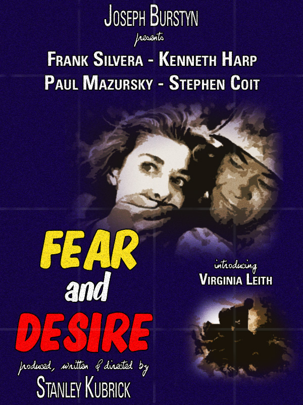 Fear and Desire kapak