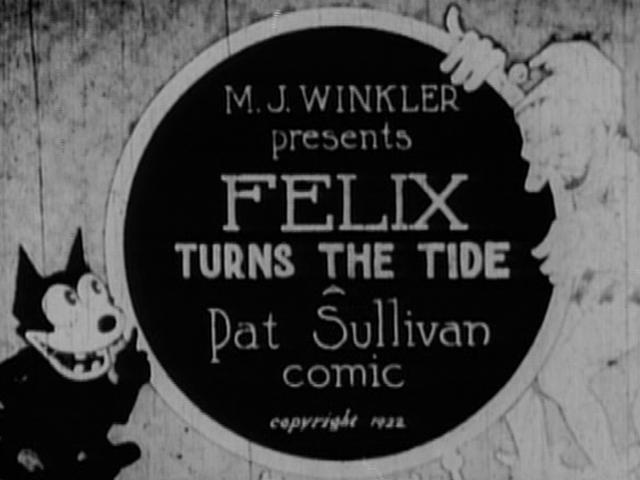 Felix Turns the Tide kapak