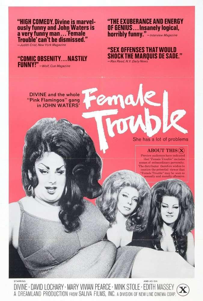 Female Trouble kapak