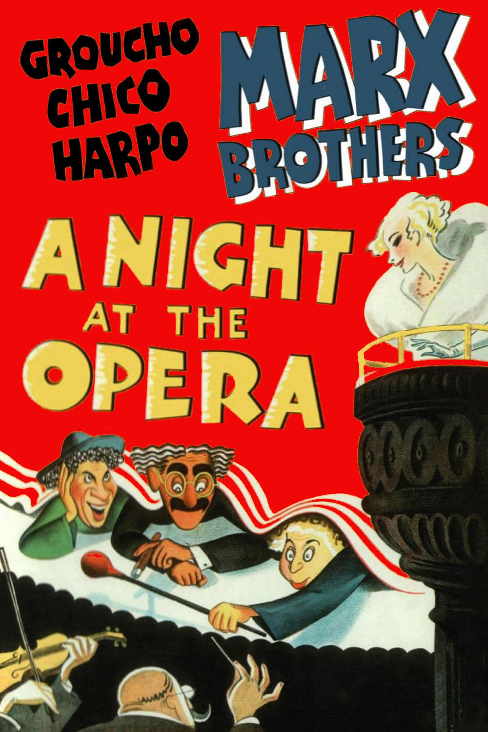 A Night at the Opera kapak