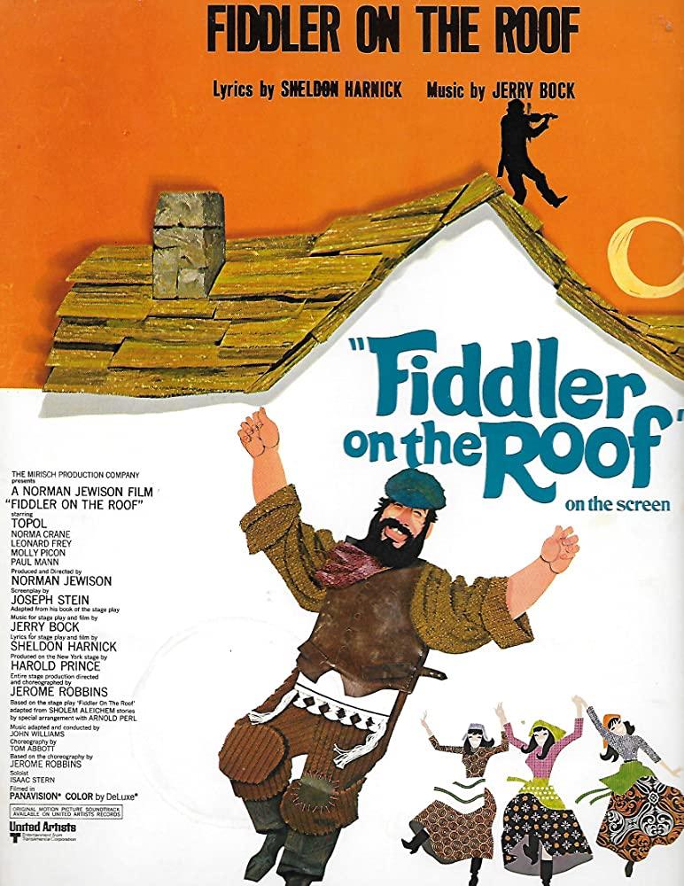 Fiddler on the Roof kapak