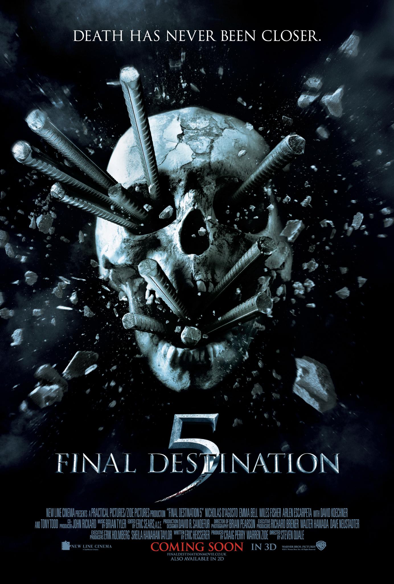 Final Destination 5 kapak