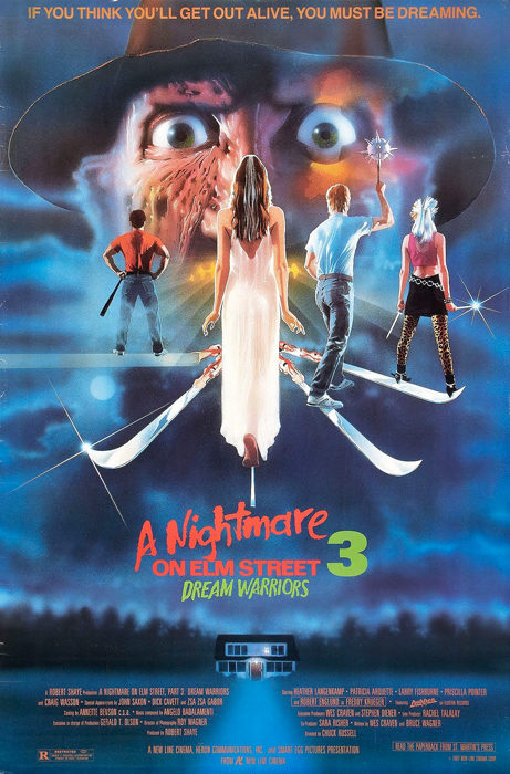 A Nightmare on Elm Street 3: Dream Warriors kapak