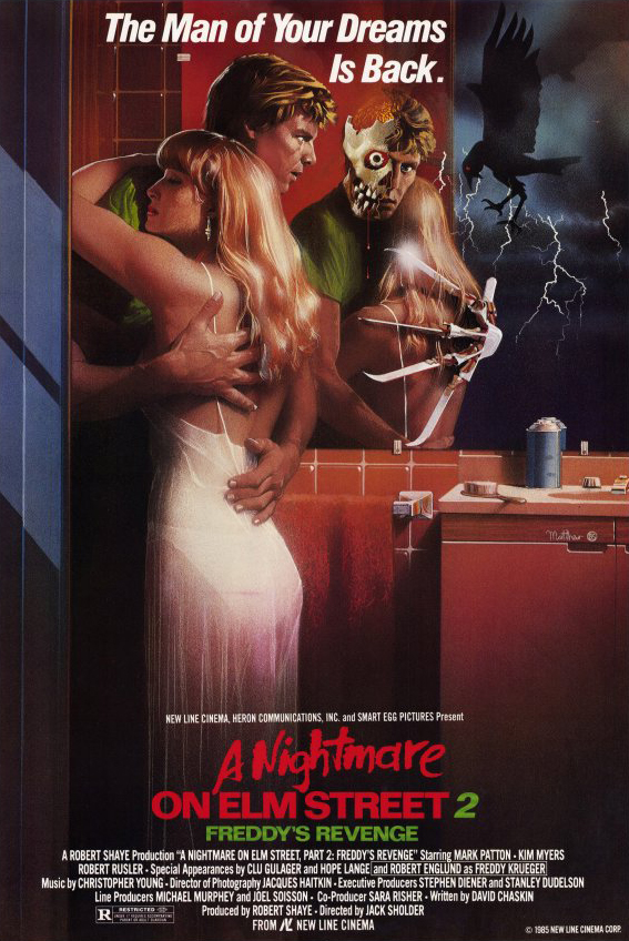 A Nightmare on Elm Street Part 2: Freddy's Revenge kapak