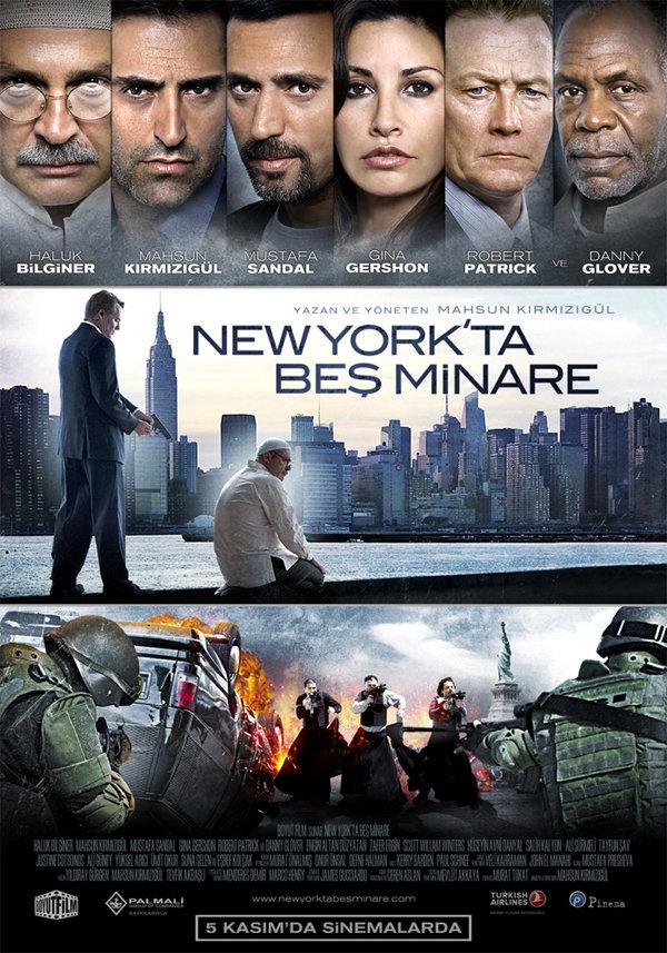 New York'ta Bes Minare kapak