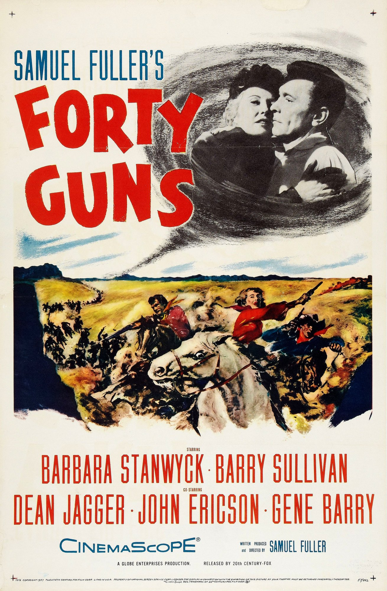 Forty Guns kapak