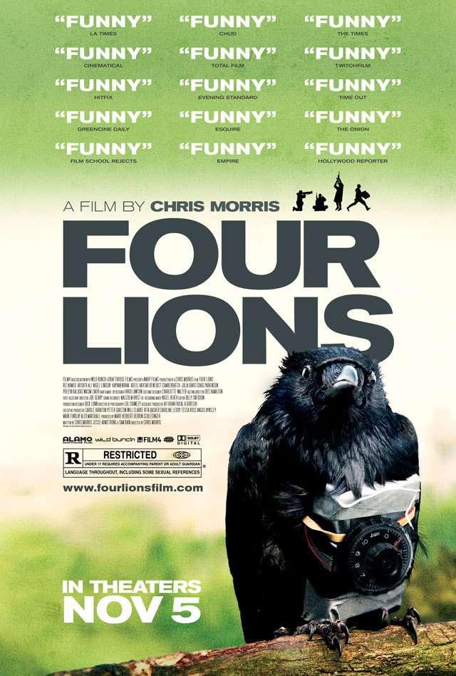 Four Lions kapak