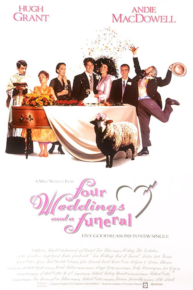 Four Weddings and a Funeral kapak