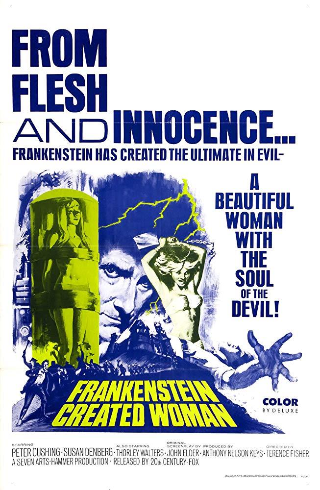 Frankenstein Created Woman kapak