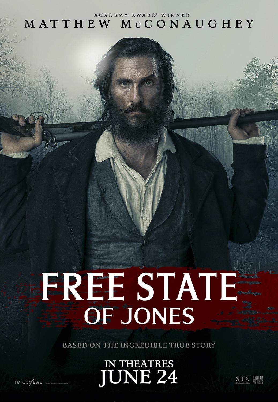 Free State of Jones kapak