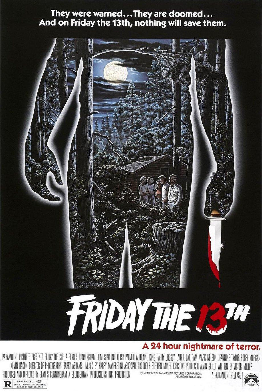 Friday the 13th kapak