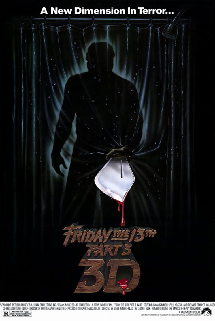 Friday the 13th Part III kapak