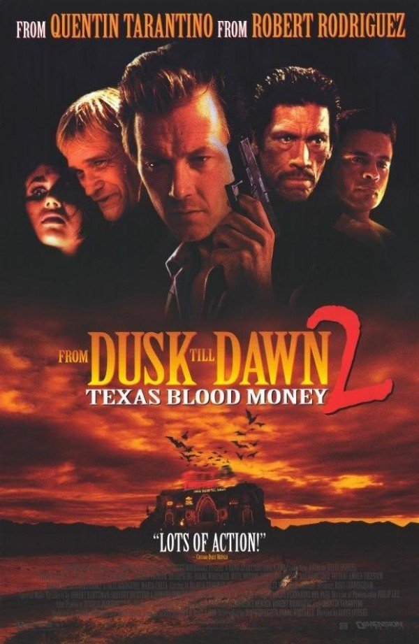 Dusk Till Dawn 2: Texas Blood Money kapak
