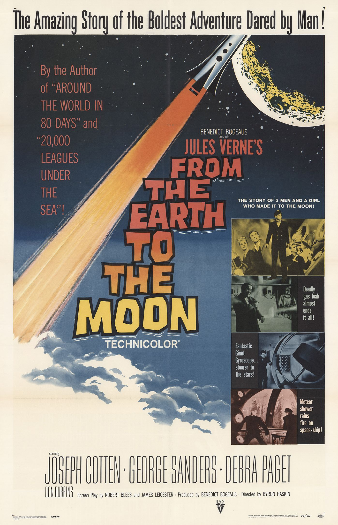 From the Earth to the Moon kapak