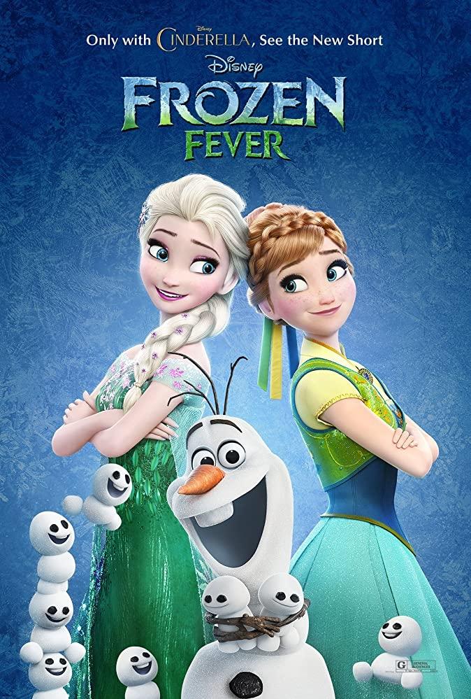 Frozen Fever kapak
