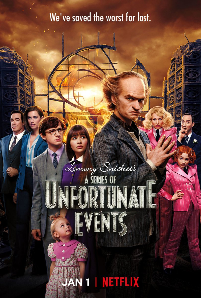 A Series of Unfortunate Events kapak