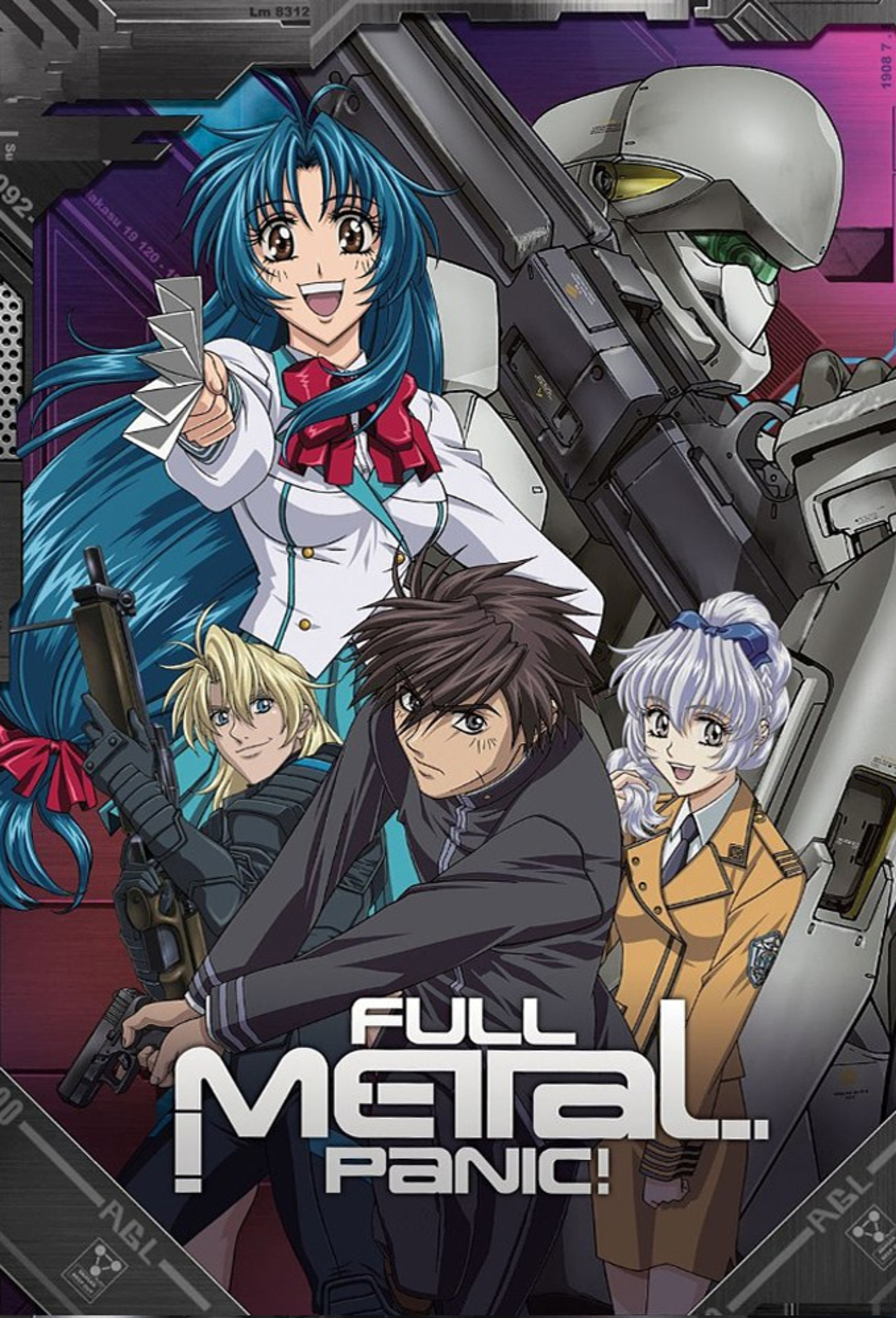 Full Metal Panic! kapak