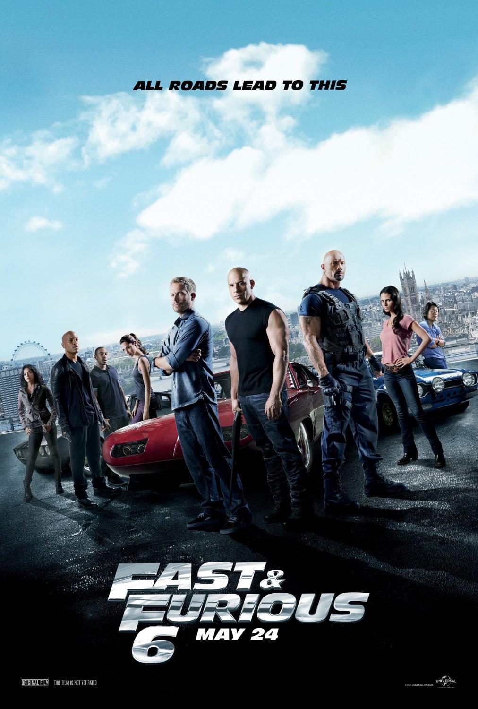 Fast & Furious 6 kapak