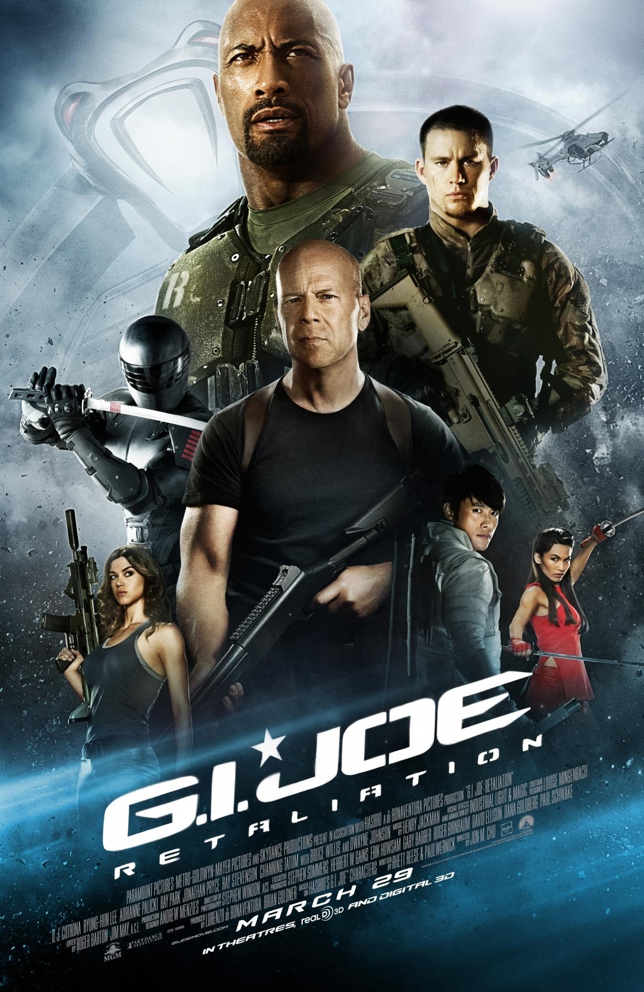 G.I. Joe: Retaliation kapak