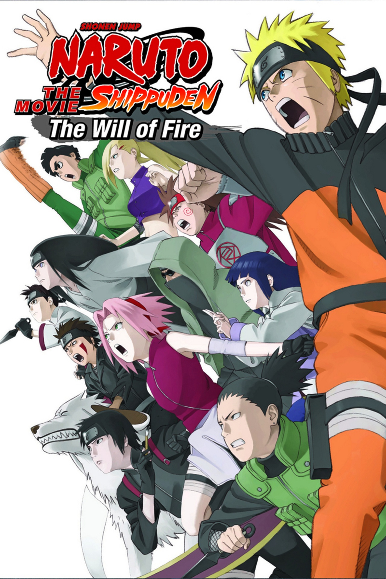 Naruto Shippûden: The Movie 3: Inheritors of the Will of Fire kapak
