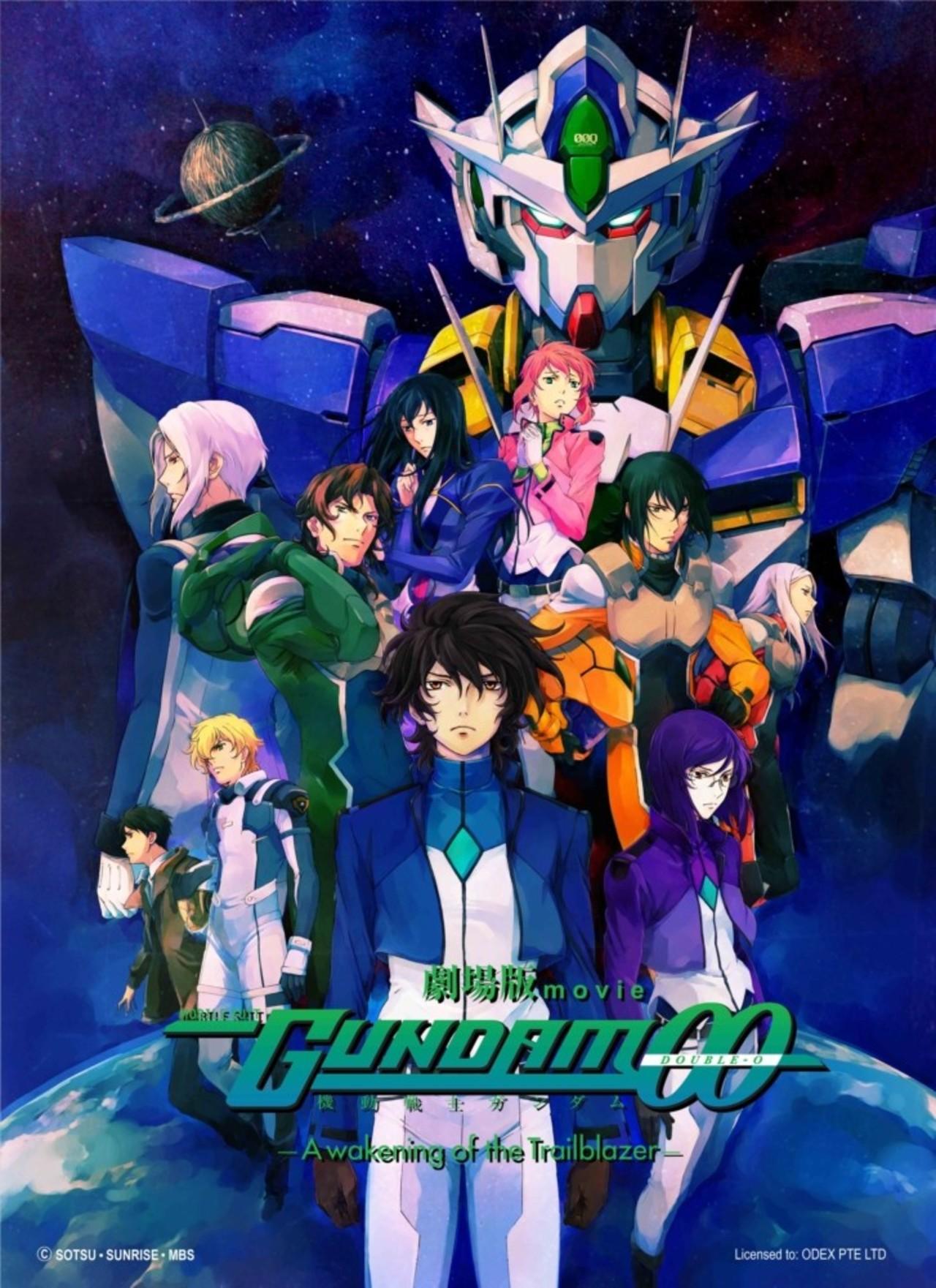 Mobile Suit Gundam 00: A Wakening of the Trailblazer kapak