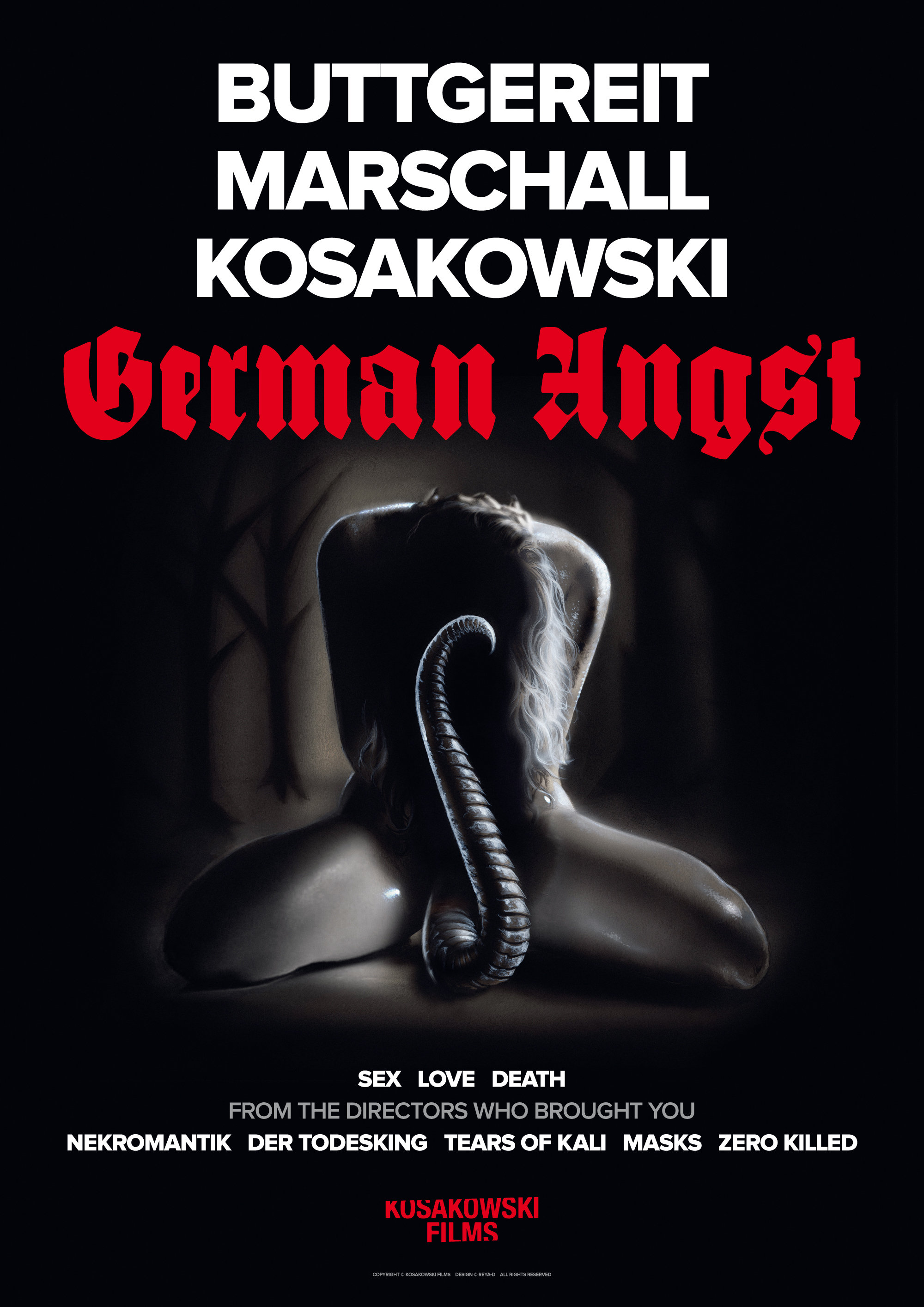 German Angst kapak