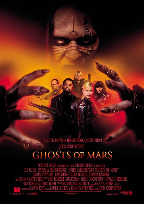 Ghosts of Mars kapak