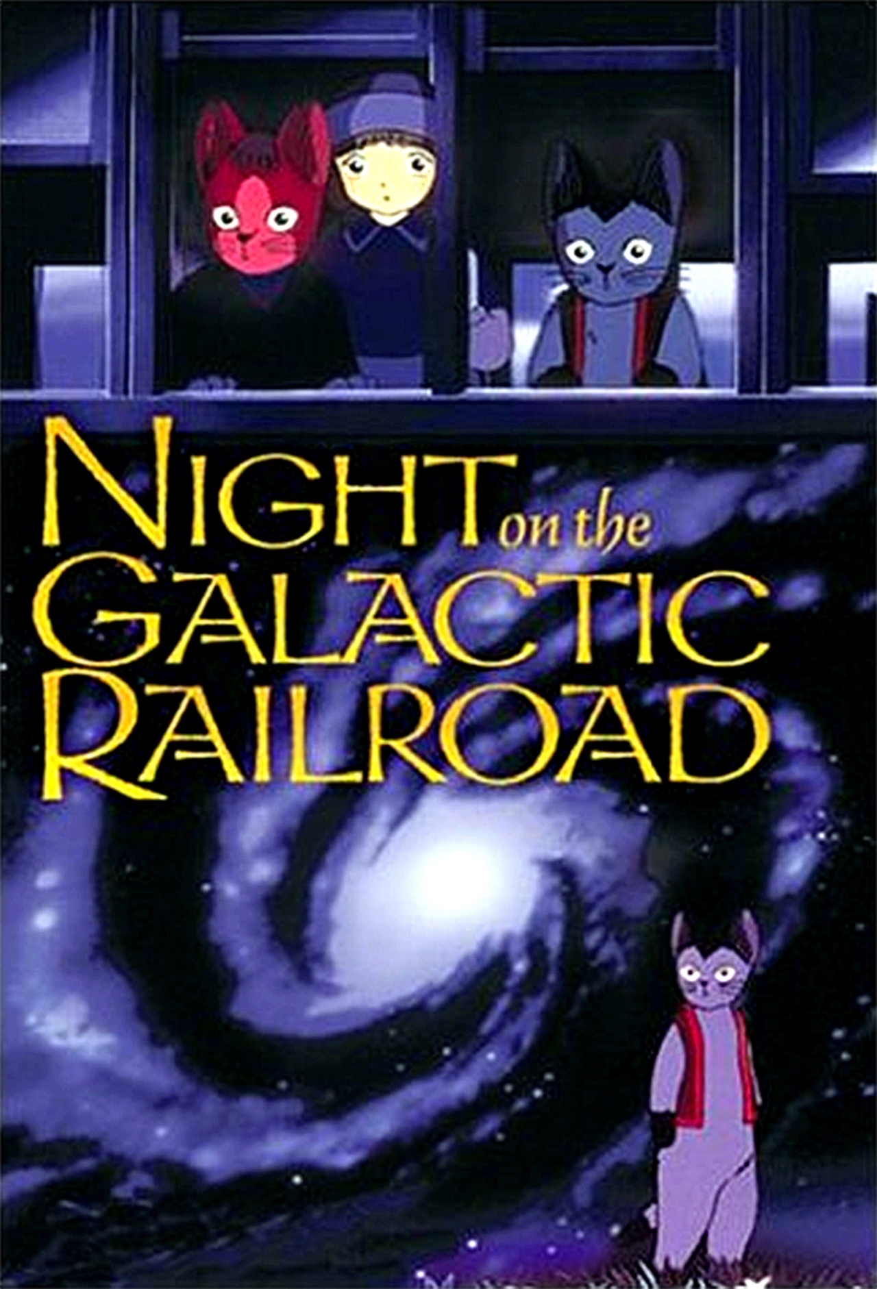Kenji Miyazawa's Night on the Galactic Railroad kapak