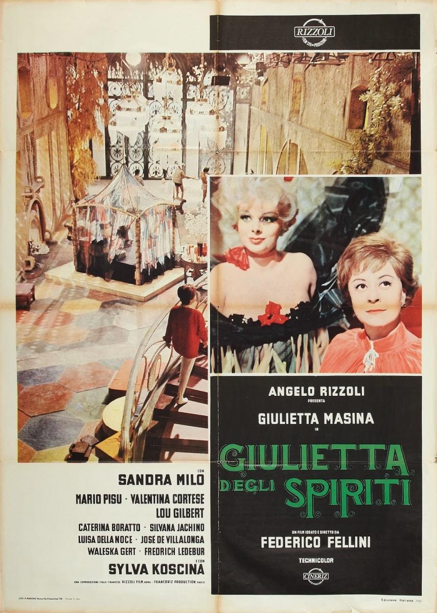 Juliet of the Spirits kapak