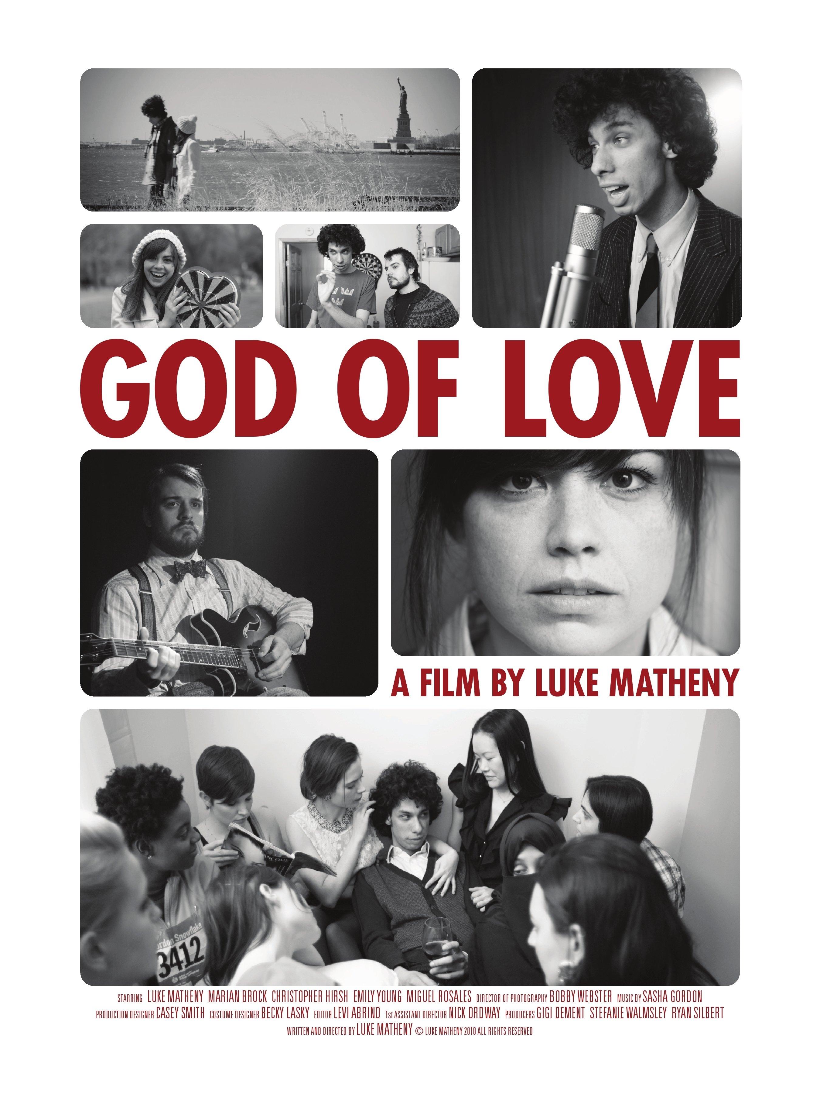 God of Love kapak