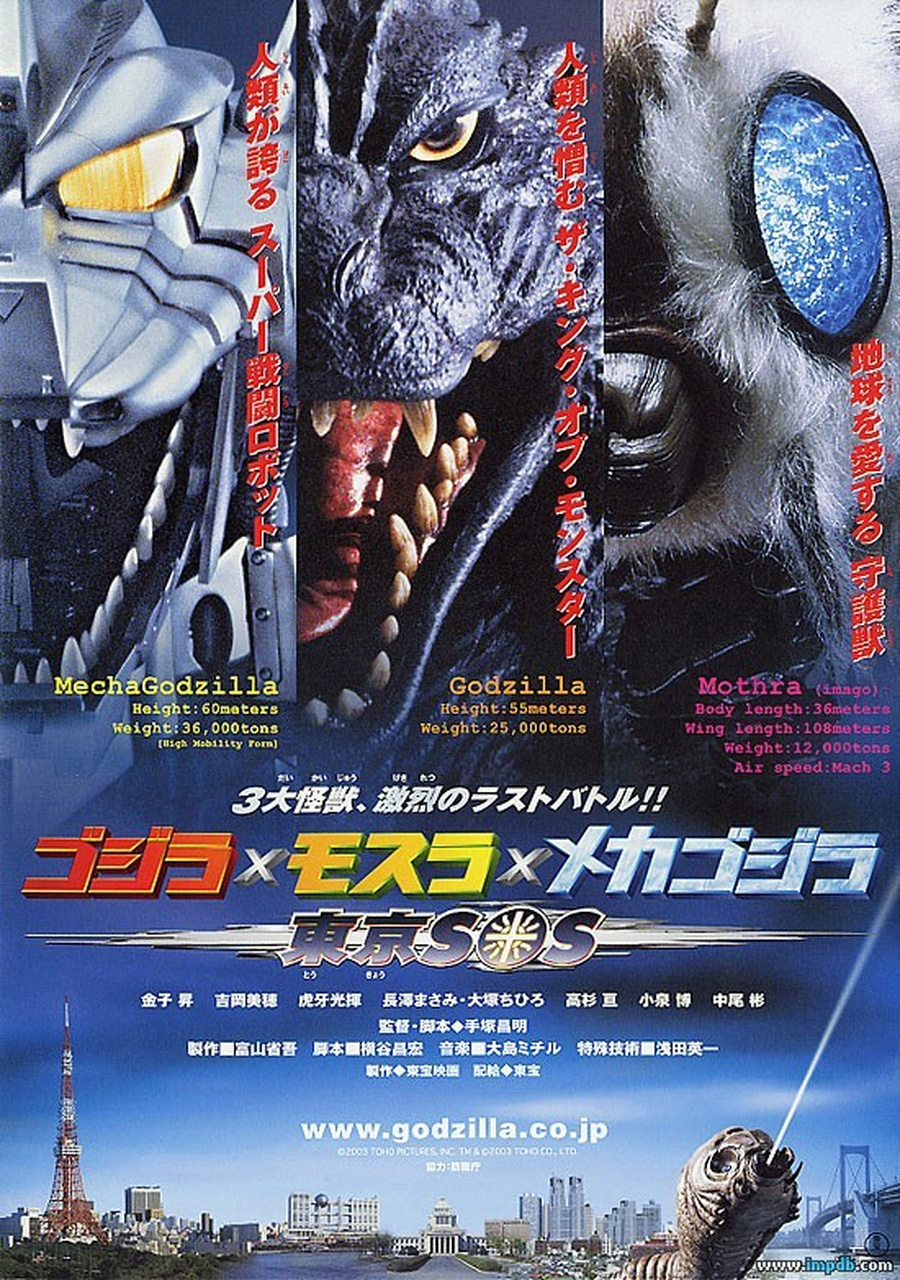 Godzilla: Tokyo S.O.S. kapak