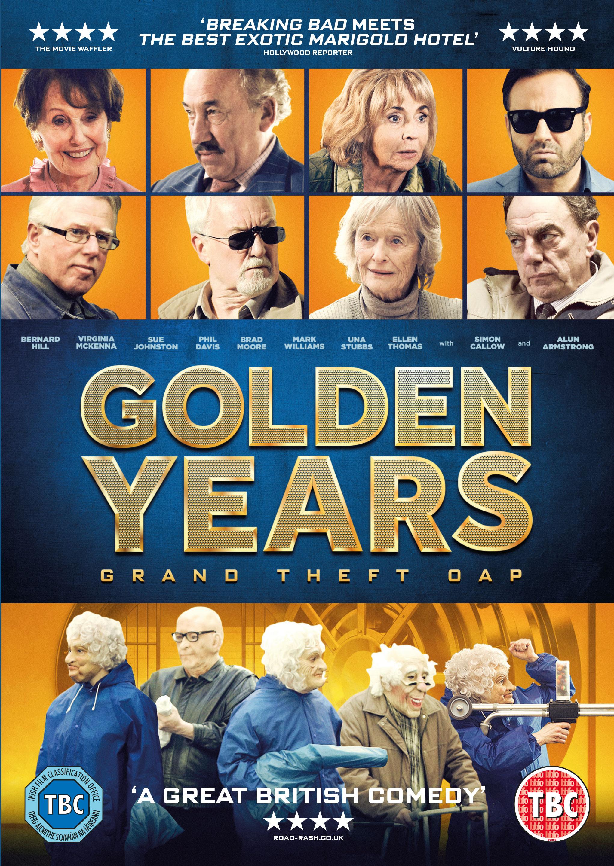 Golden Years kapak