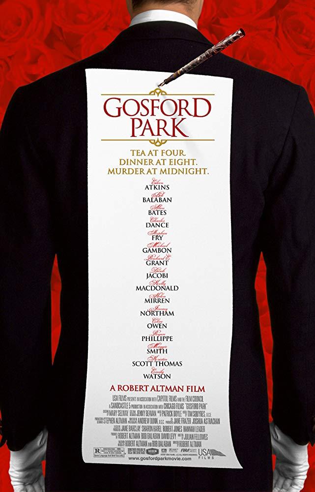 Gosford Park kapak