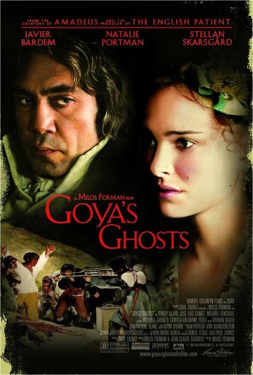 Goya's Ghosts kapak