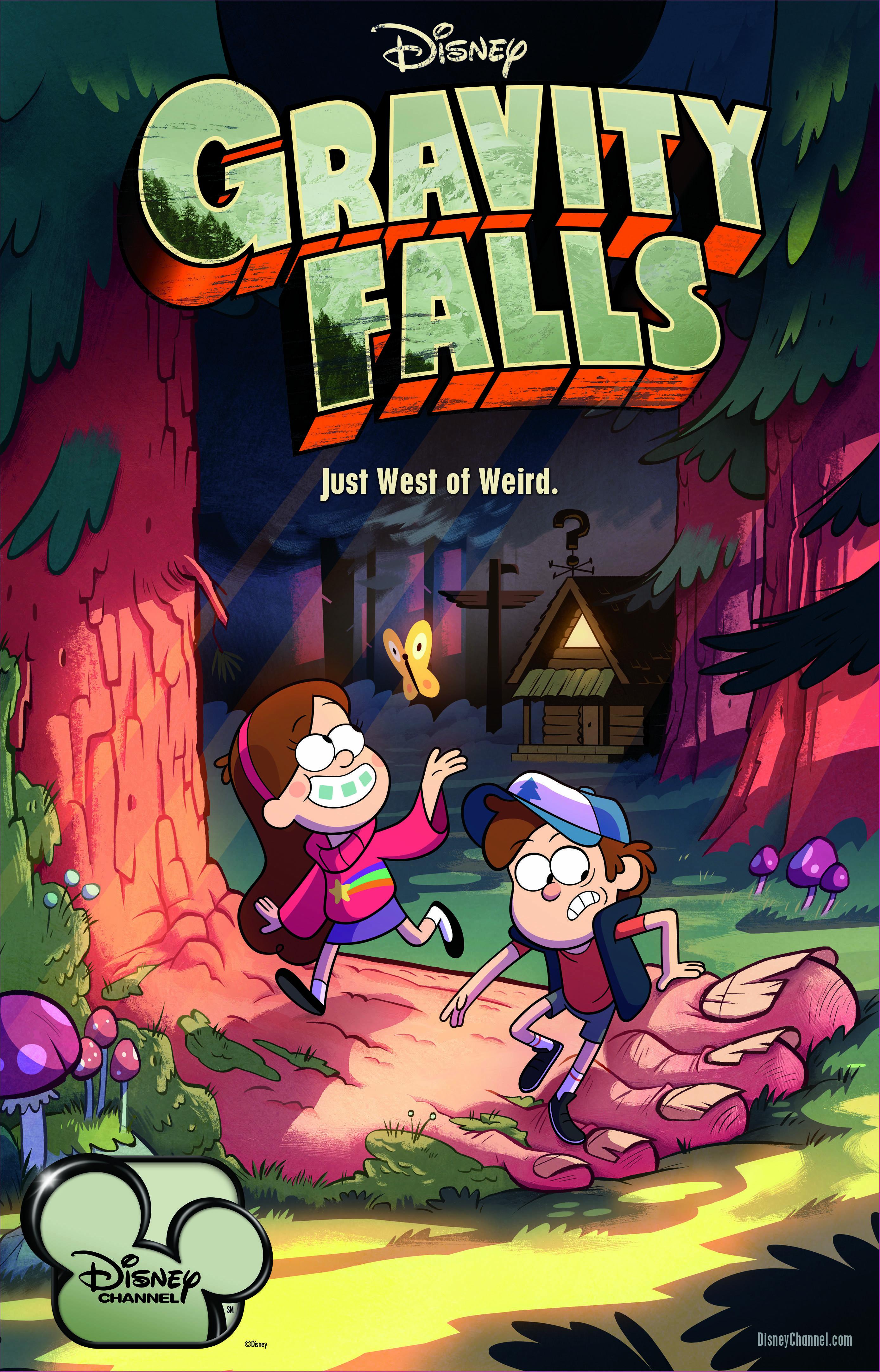 Gravity Falls kapak