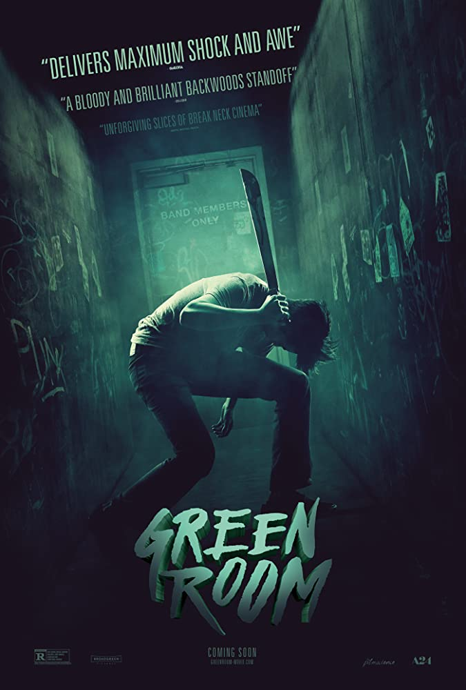 Green Room kapak