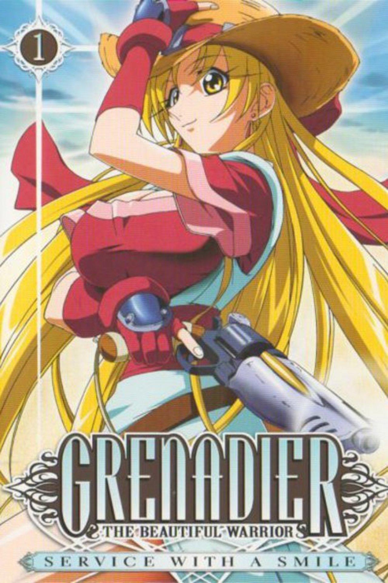 Grenadier: Hohoemi no senshi kapak