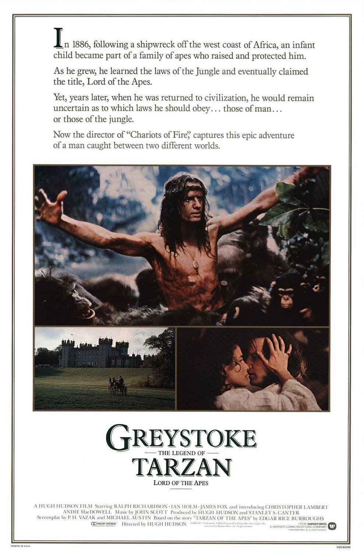 Greystoke kapak