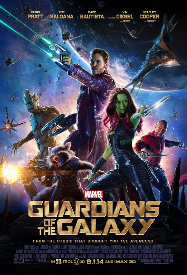 Guardians of the Galaxy kapak