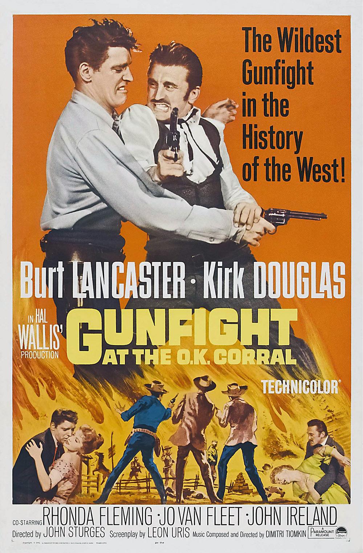 Gunfight at the O.K. Corral kapak