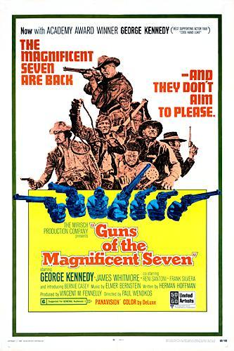 Guns of the Magnificent Seven kapak