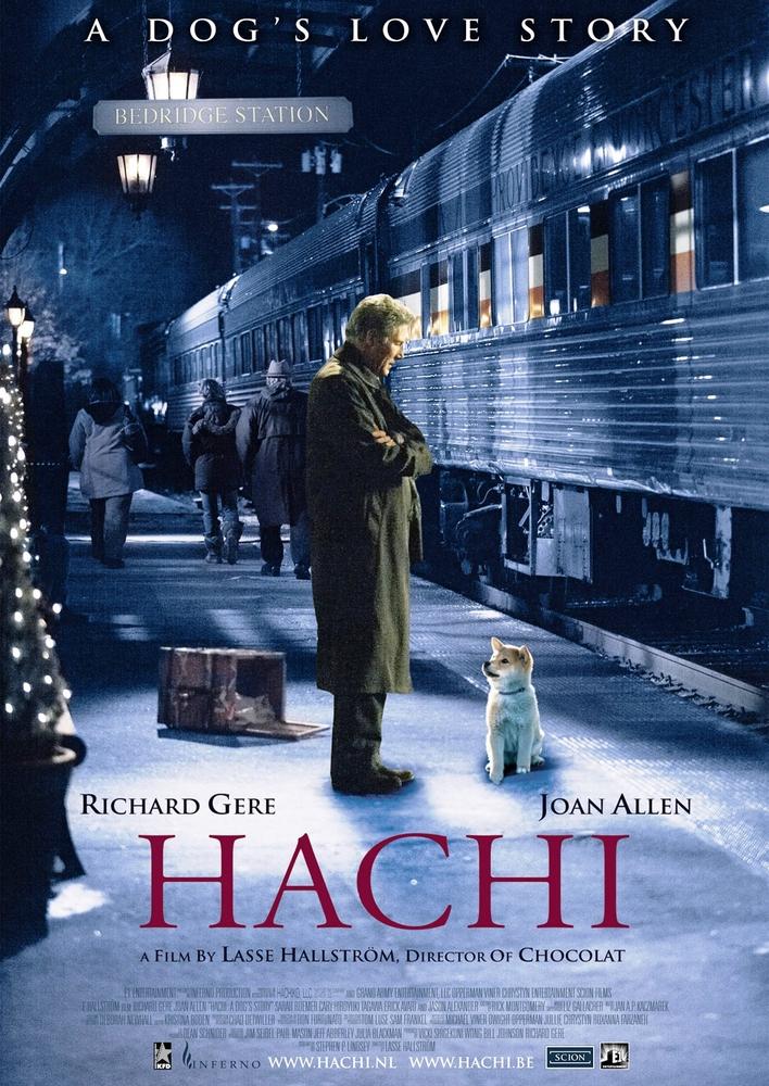 Hachi: A Dog's Tale kapak