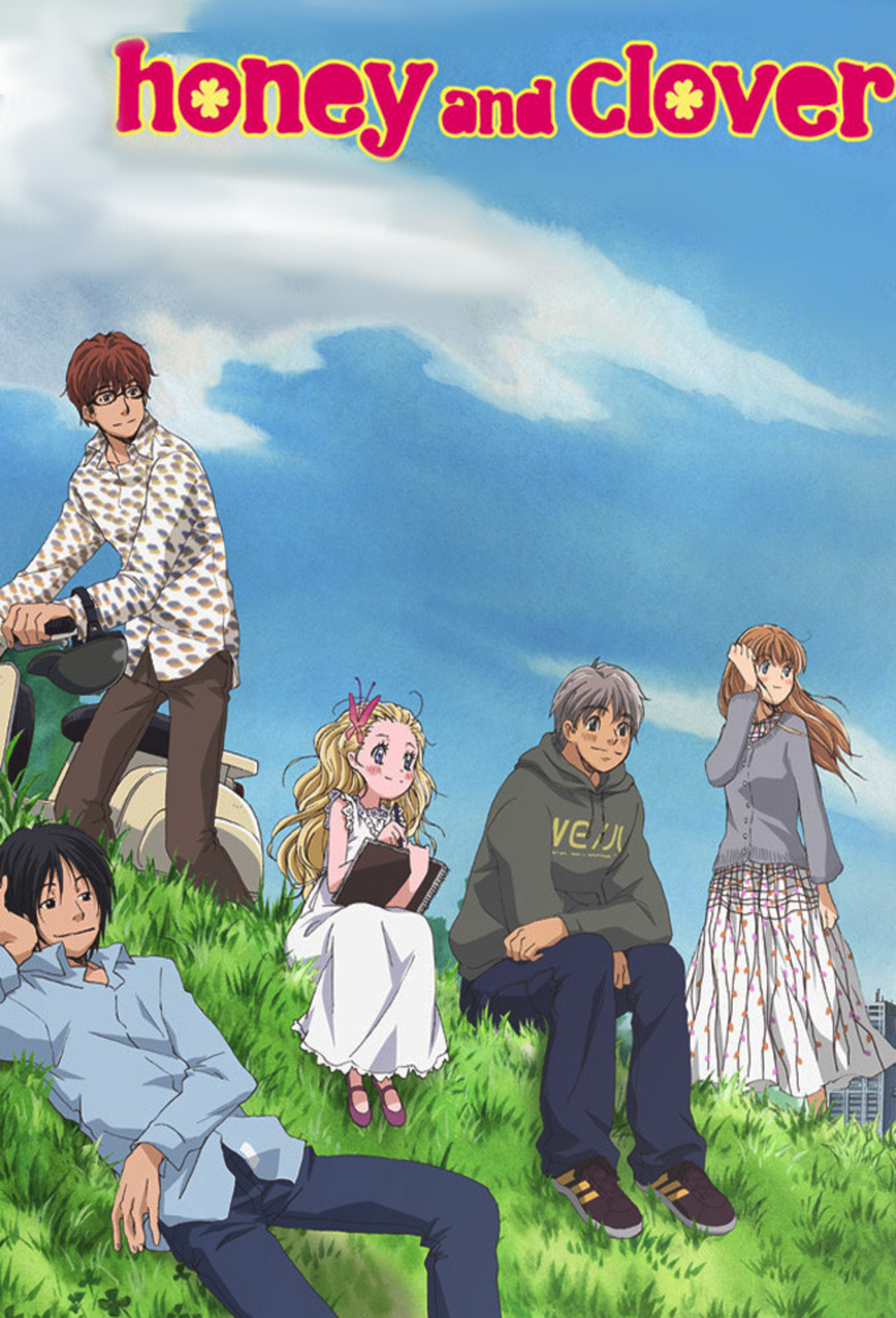 Honey and Clover kapak