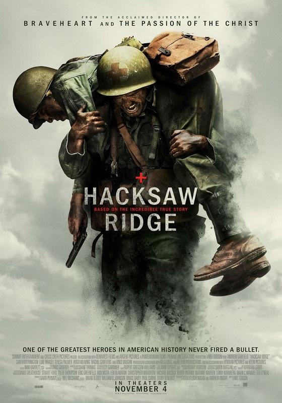 Hacksaw Ridge kapak