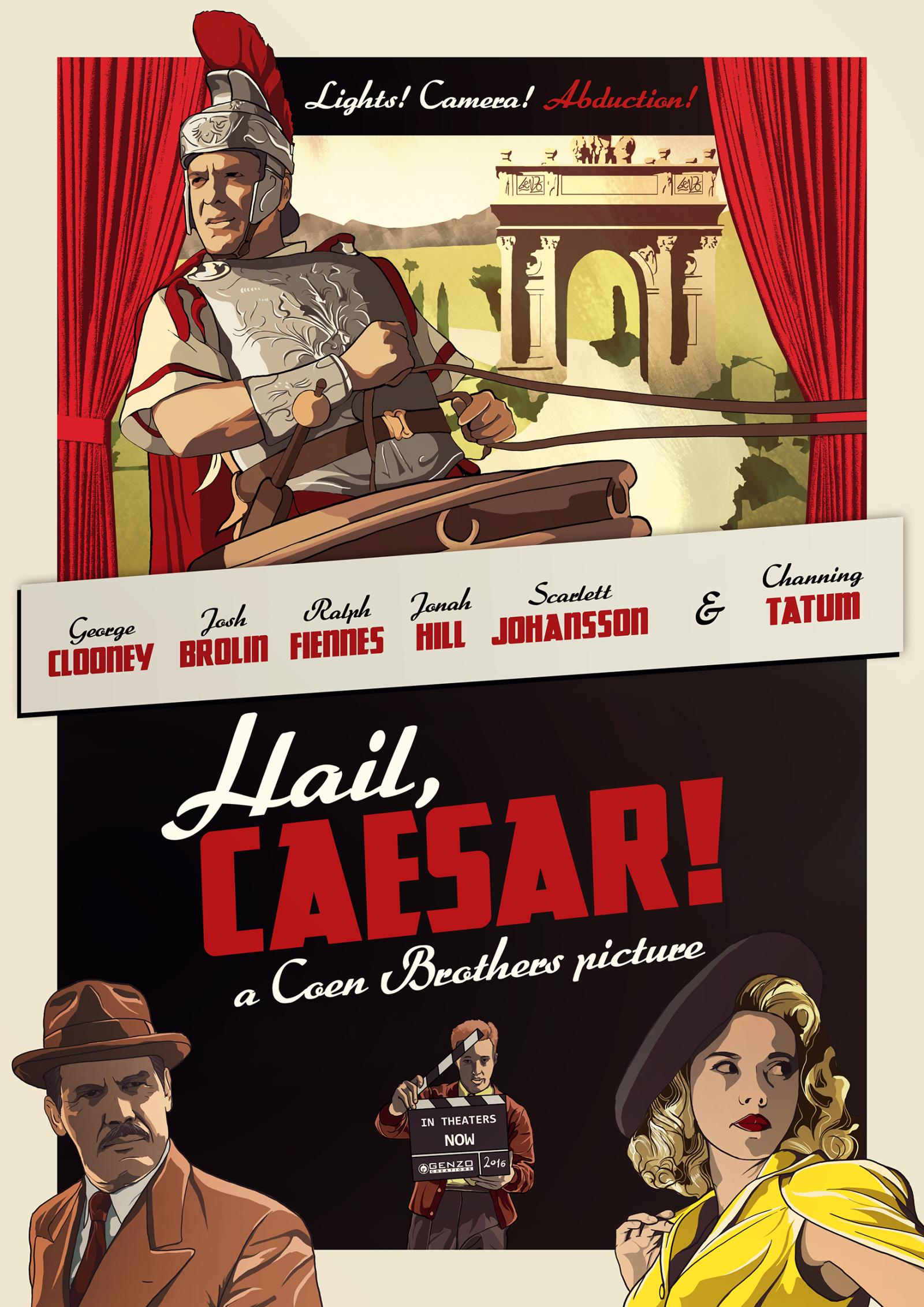 Hail, Caesar! kapak